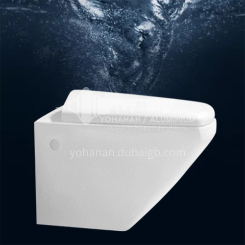 Ceramic wall mounted toilet