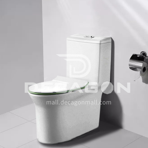 siphonic one-piece toilet