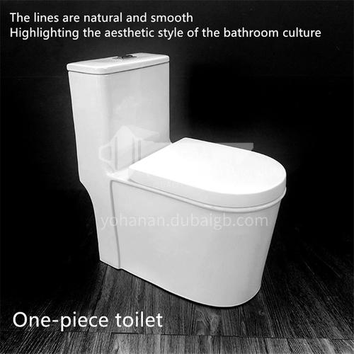 ceramic  siphonic    one piece     dual flush toilet