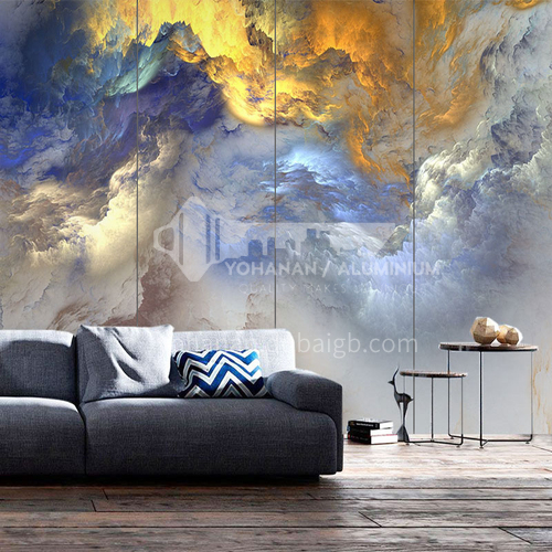 Customized 3D marble Background Wall BGW061