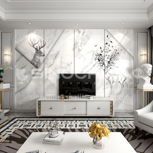 Customized  Northern Europe style Background Wall home decoration BGW063
