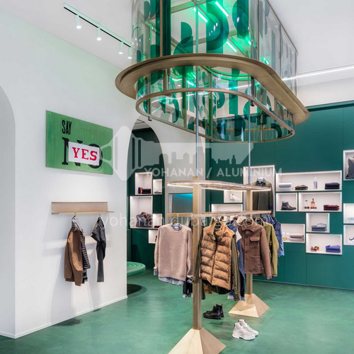 Clothing store design BSM1031