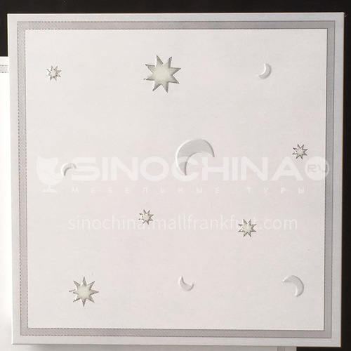 300*300mm aluminum gusset ceiling waterproof, fireproof and antifouling kitchen and bathroom special ceiling JLT7200