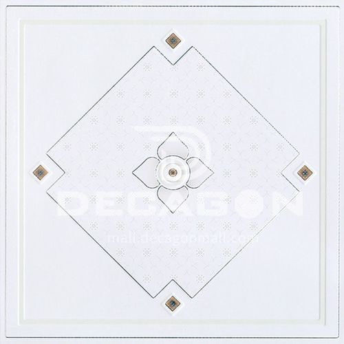 300*300mm aluminum gusset ceiling waterproof, fireproof and antifouling kitchen and bathroom ceiling JLT7201