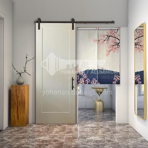 G2 Modern New Barn Door Sliding Door Kitchen Sliding Wooden Door Hanging Sliding Door Toilet Door 1