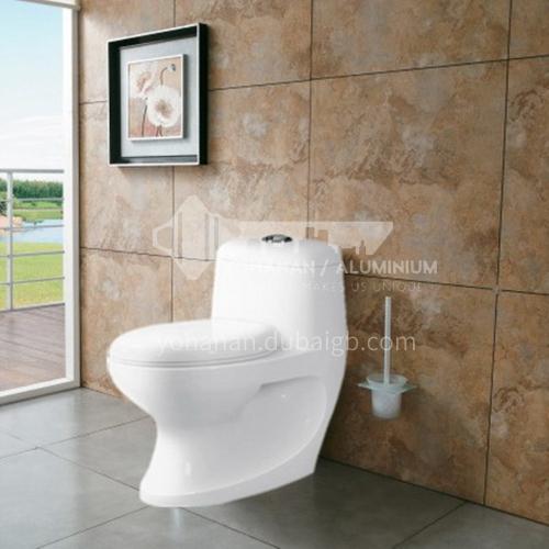 one-piece ceramic toilet  wash-down toilet