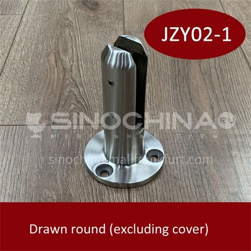 Stainless steel glass base JZY02-1