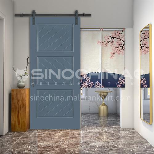 G modern new barn door sliding door kitchen sliding wooden door hanging sliding door toilet door 8