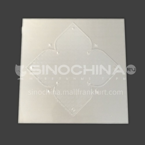 300*300mm aluminum gusset ceiling waterproof, fireproof and antifouling kitchen and bathroom special ceiling JLT7216