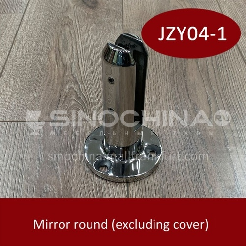 Stainless steel glass base JZY04-1