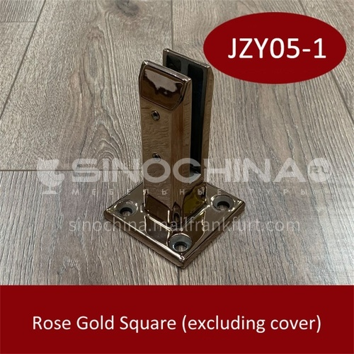 Stainless steel glass base JZY05-1
