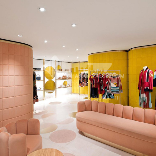 Clothing brand store design BSM1041