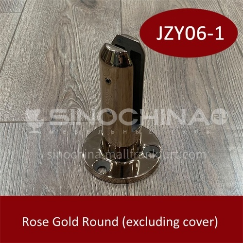 Stainless steel glass base JZY06-1