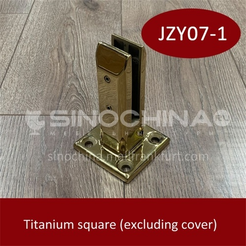 Stainless steel glass base JZY07-1