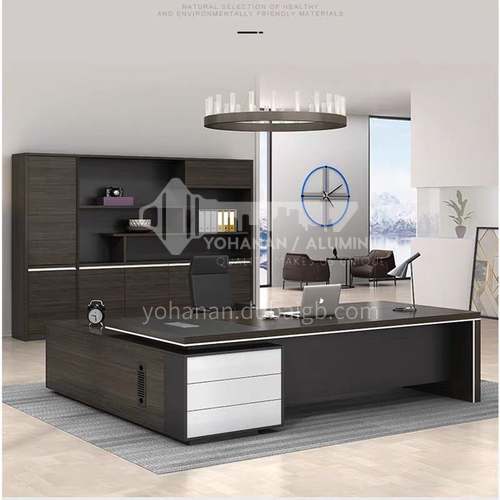 AFS-02A Executive Desk Modern office boss desk mixed color fashionable business high-end