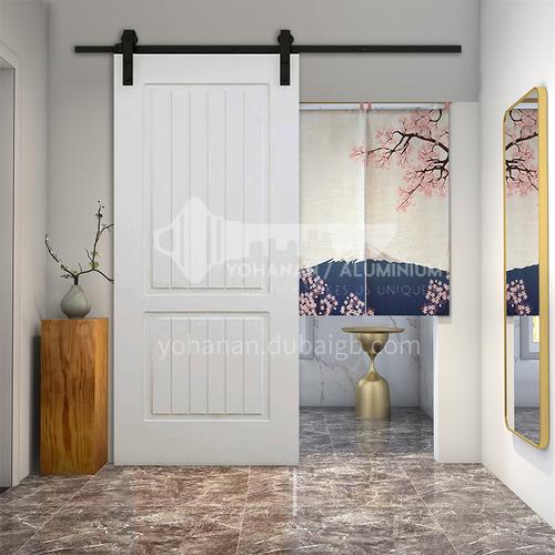 G modern new barn door sliding door kitchen sliding wooden door hanging sliding door toilet door 6