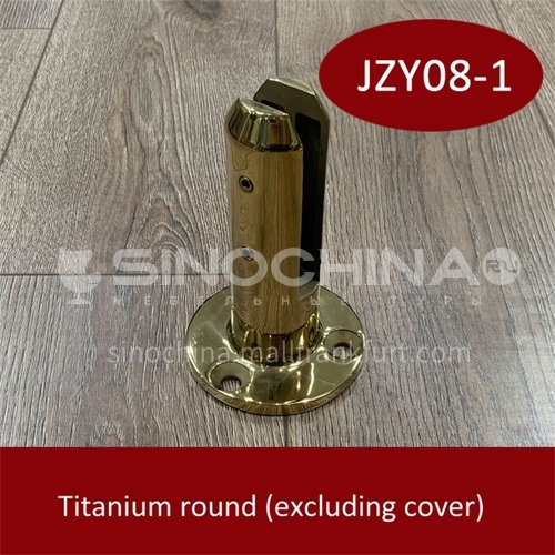 Stainless steel glass base JZY08-1
