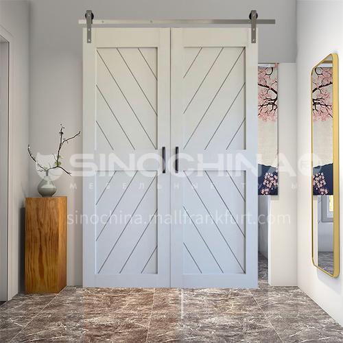 G2 modern new style barn door sliding door kitchen sliding wooden door hanging sliding door toilet door 18