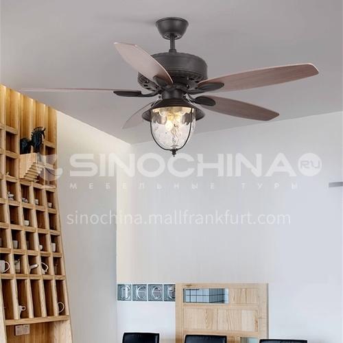 American restaurant retro fan lamp, bedroom household living room lamp-DSYF-SLY1060