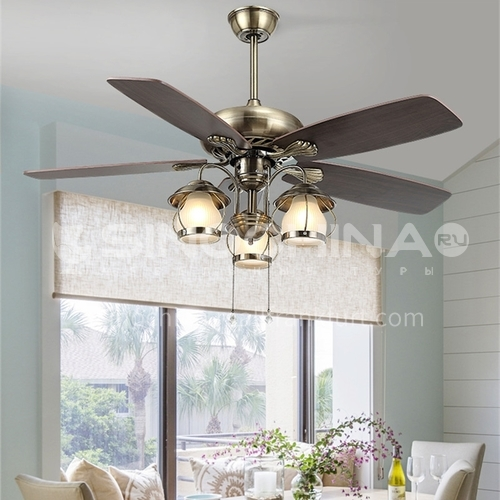 American simple retro fan lamp, bedroom, dining room and living room lamp-DSYF-SLY1094