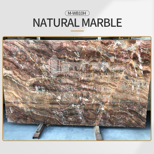 Modern simple red natural marble M-WB10H