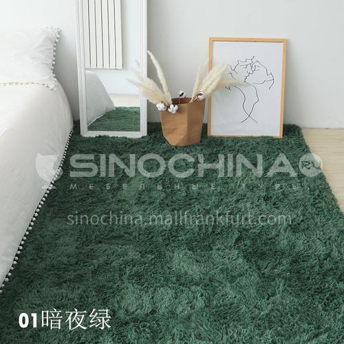 Pure color plush carpet DT-19-20