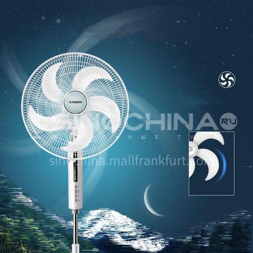 AIRMATE electric fan household floor fan vertical remote control silent five-blade fan DQ000731
