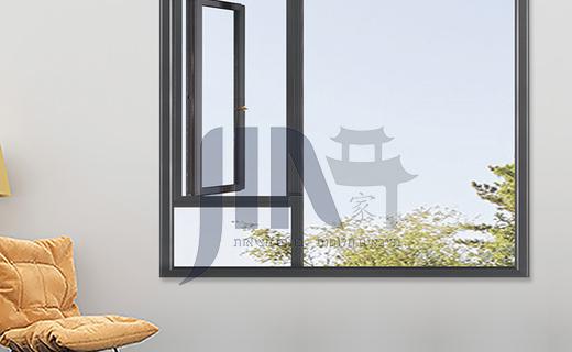 1.4mm 50 series aluminum alloy casement windows, high quality single casement windows, household apartment engineering windows
