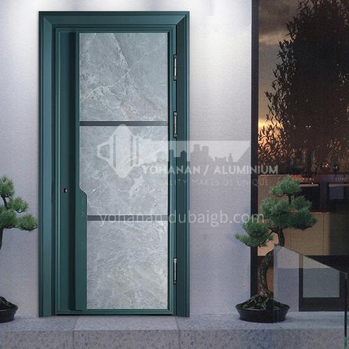 Color Class A Security Door Marble Panel Apartment Door Villa Entrance Door Door