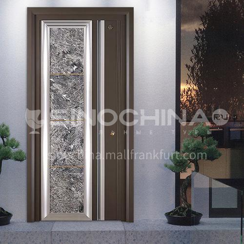 Class A security door marble panel apartment door villa door entrance door