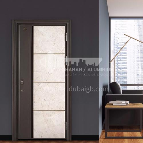 Class A security door marble panel villa door apartment entrance door door