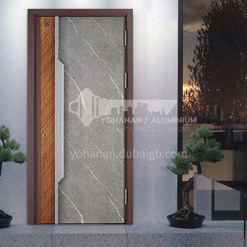 Class A security door marble panel villa door door apartment entrance door