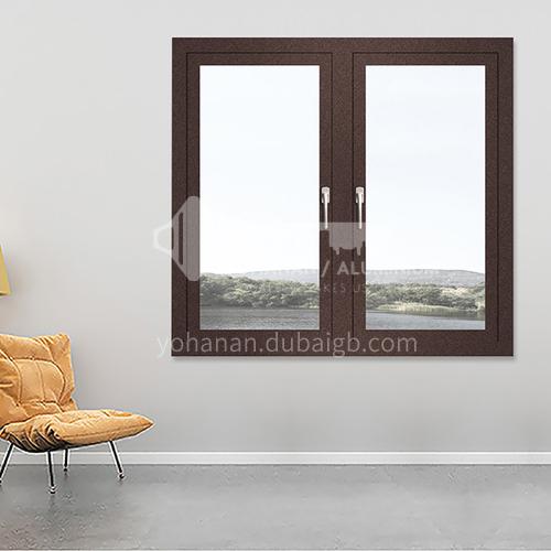 1.4mm 50 series aluminum alloy casement windows, high quality engineering windows
