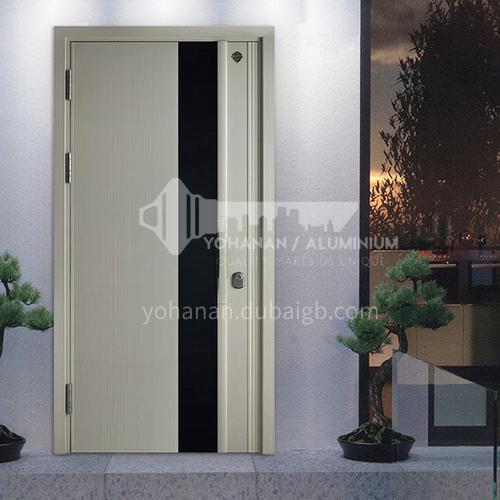 Modern waterproof and soundproof class A anti-theft outdoor door