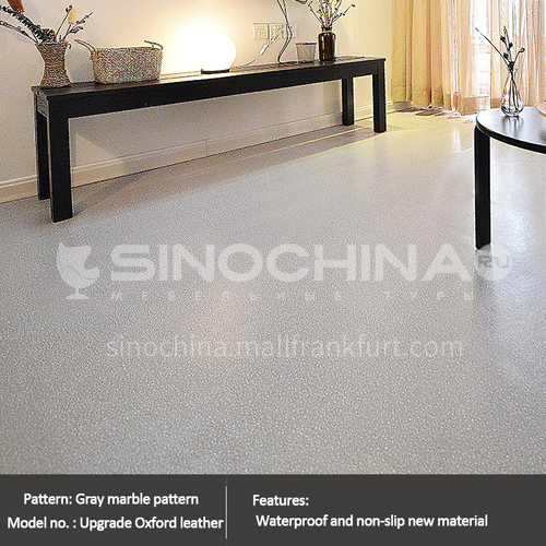 2.0mm thickness PVC flooring stone texture