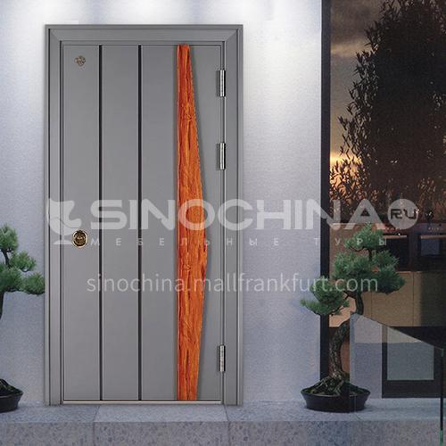 High temperature resistant and wear-resistant soundproof household villa door residential outdoor door Class A security anti-theft door