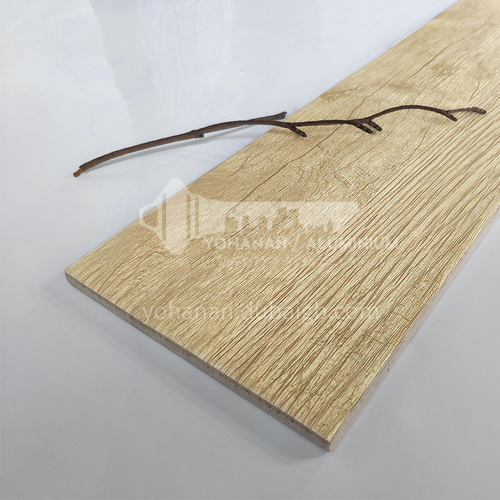 Nordic all-ceramic wood grain tile living room balcony floor tile-MY5835 150mm*800mm