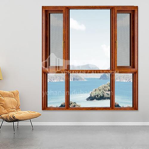 1.6mm 100 series aluminum alloy casement windows