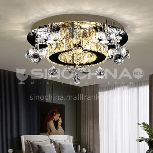 Bedroom light led ceiling light simple modern crystal light round restaurant star light LG-X131