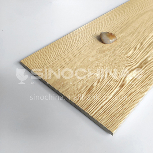 Nordic all-ceramic wood-grain tile living room balcony floor tile-AL12205 200mm*1200mm