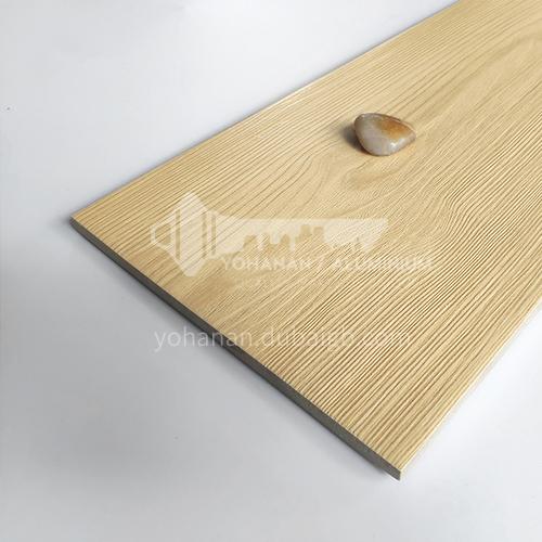 Nordic all-ceramic wood-grain tile living room balcony floor tile-AL12205 200mm*1200mm