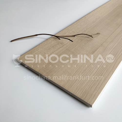 Nordic all-ceramic wood-grain tile living room balcony floor tiles-AL12207 200mm*1200mm