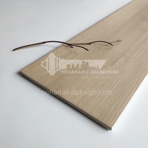 Nordic all-ceramic wood-grain tile living room balcony floor tiles-AL12207 200mm*1200mm