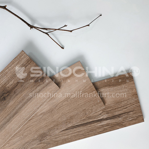 Nordic all-ceramic wood grain tile living room balcony floor tile-MY9512 150mm*900mm
