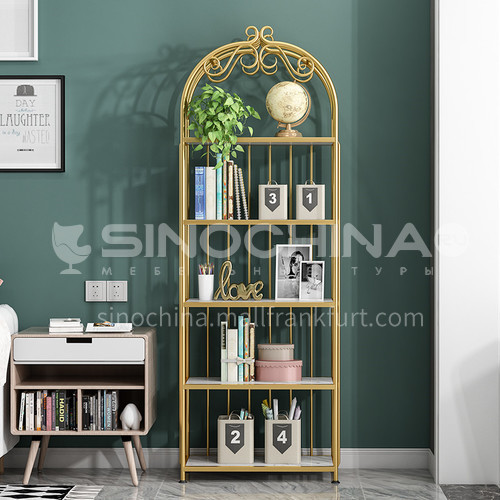 Steel Nordic Crown Rack Bookshelf
