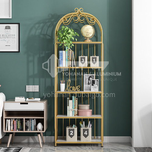 Steel Nordic Crown Rack Bookshelf