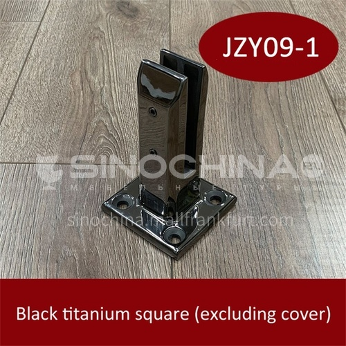 Stainless steel glass base JZY09-1