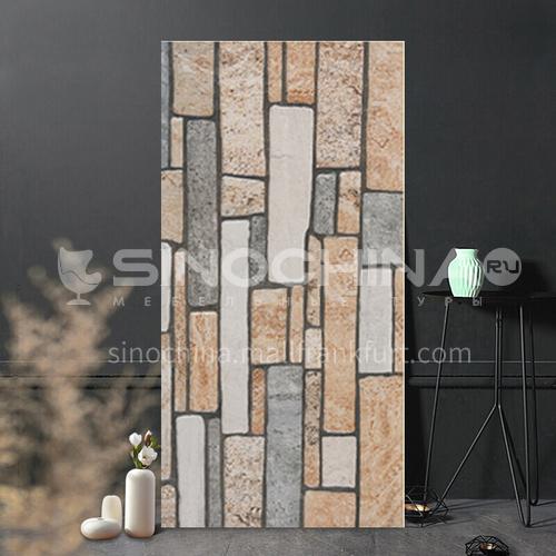 Exterior wall  tile rustic tile  courtyard wall  tile retro bluestone cultural  tile-WLKP30815 300*600mm