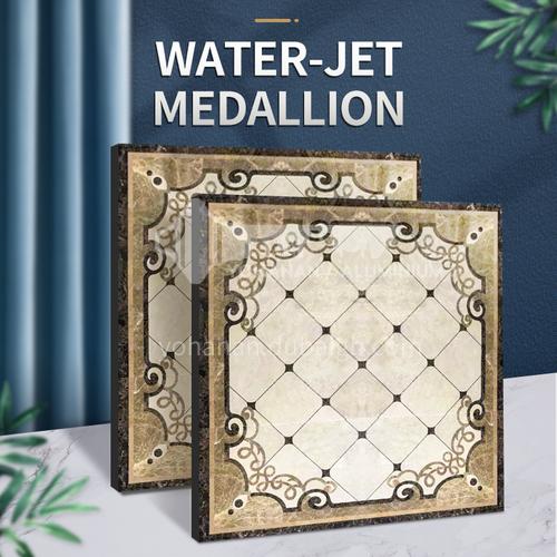 Modern high-end design natural marble stone medallion W-JS1276
