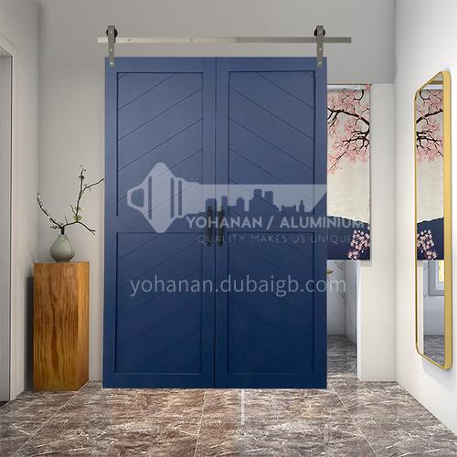 G2 Modern New Barn Door Sliding Door Kitchen Sliding Wooden Door Hanging Sliding Door Toilet Door 23